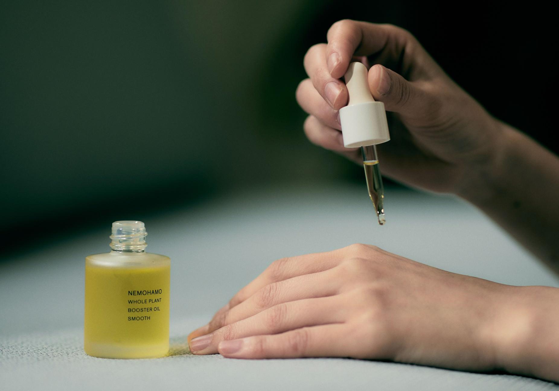 ブースターオイルスムース使用イメージ
