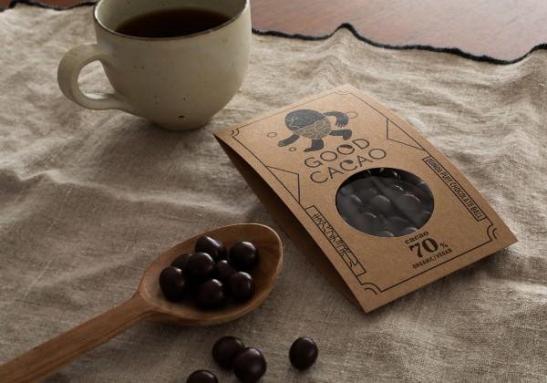 キヌアパフチョコレート