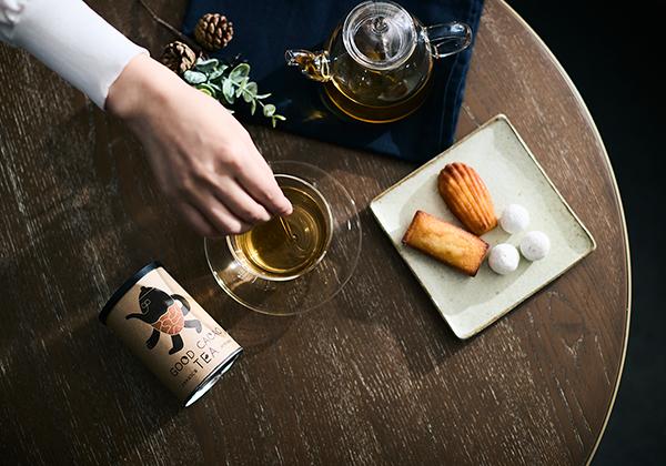 カカオほうじ茶のティータイムイメージ