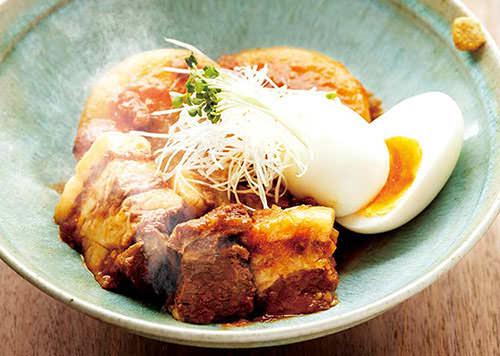 豚バラトマト角煮ソース