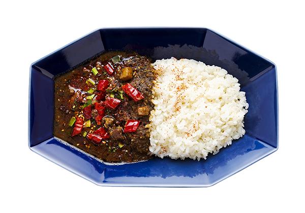 花椒と山椒がしびれる旨辛麻辣カレー