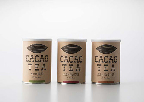 カカオティー(煎茶)ティーバッグ2g×10包/缶