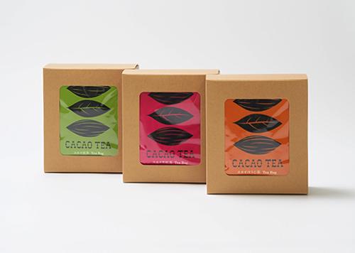 カカオティー(煎茶)ティーバッグ2g×10包/箱