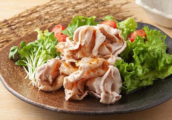 豚しゃぶ料理例
