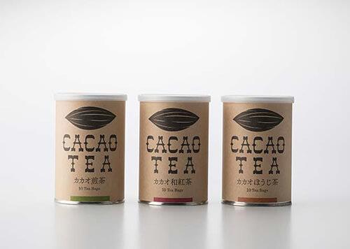 カカオティー(和紅茶)ティーバッグ2g×10包/缶