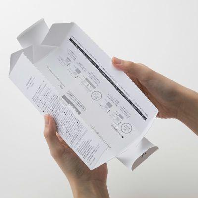 パッケージ内の説明イメージ