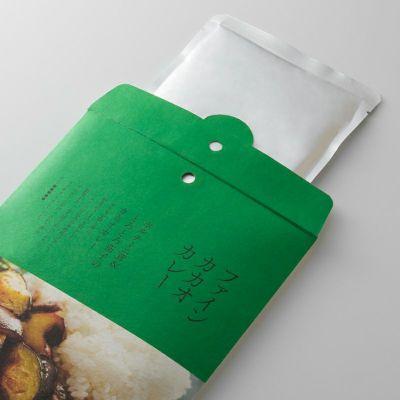 ポルチーニ茸&とろとろ茄子のカカオカレーの開封イメージ