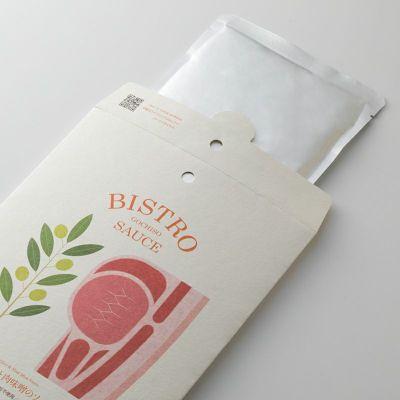 「オリーブと肉味噌のソース」のパッケージ