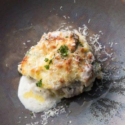 椎茸オニオンソースを使った料理3