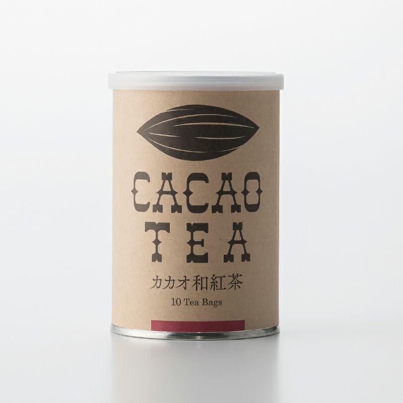 オーガニックティー「カカオ和紅茶」