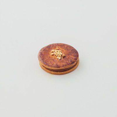 塩プラリネ味のキャラメルサンドクッキー