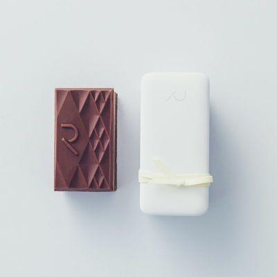 Tablet Gateau Chocolat Milk/Rumと外箱イメージ