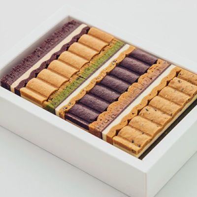 皿盛りのナミナミクッキー3種