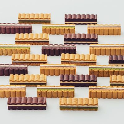 木箱入りのナミナミクッキー20本