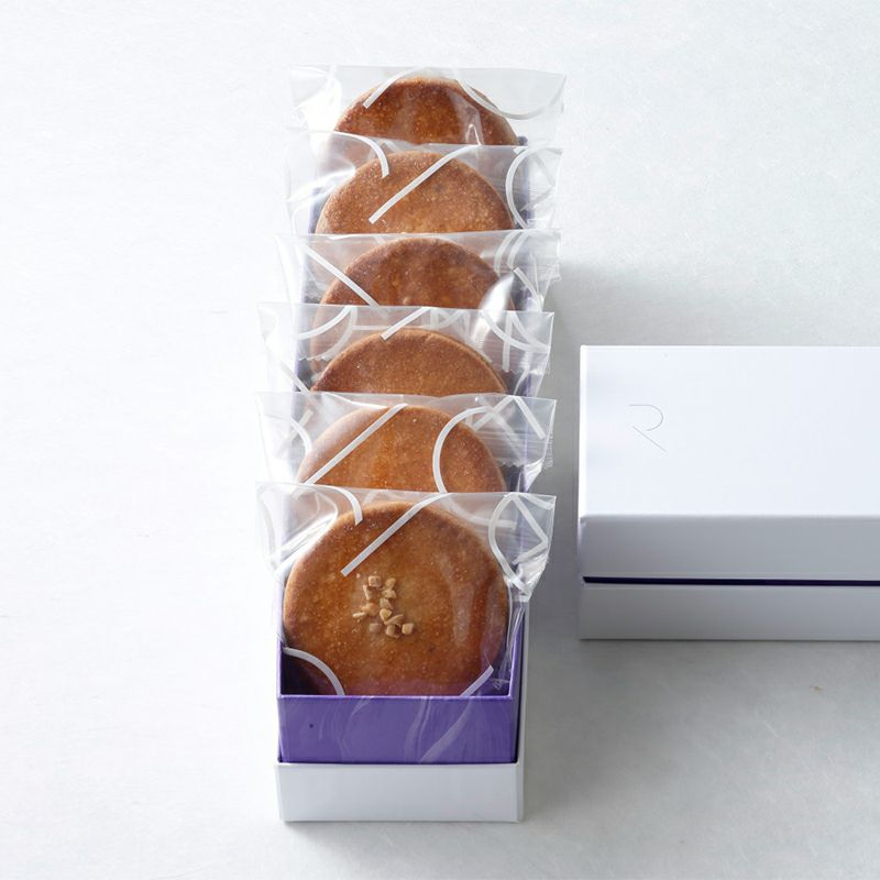 キャラメルサンドクッキー 6枚