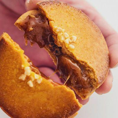 キャラメルサンドクッキー