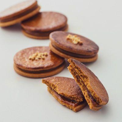 クッキー断面