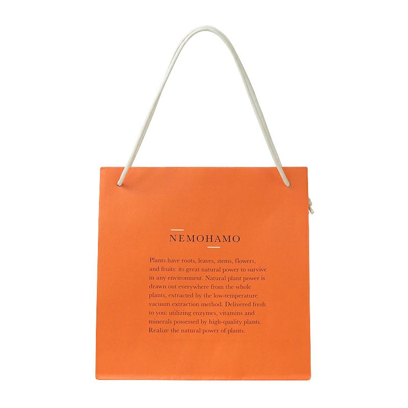 【NEMOHAMO】手提げ紙袋(Mサイズ)_01