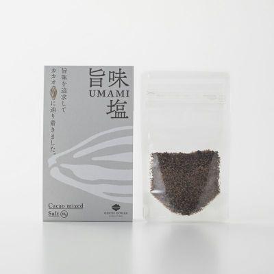 旨味塩(パウチ)のパッケージ