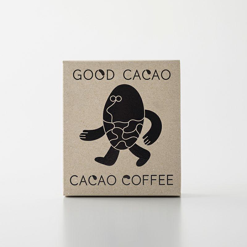 カカオコーヒー(箱)のパッケージ