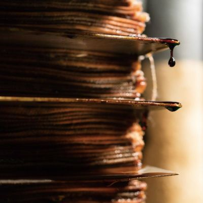 旨味だし醤油(パウチ)の製造過程