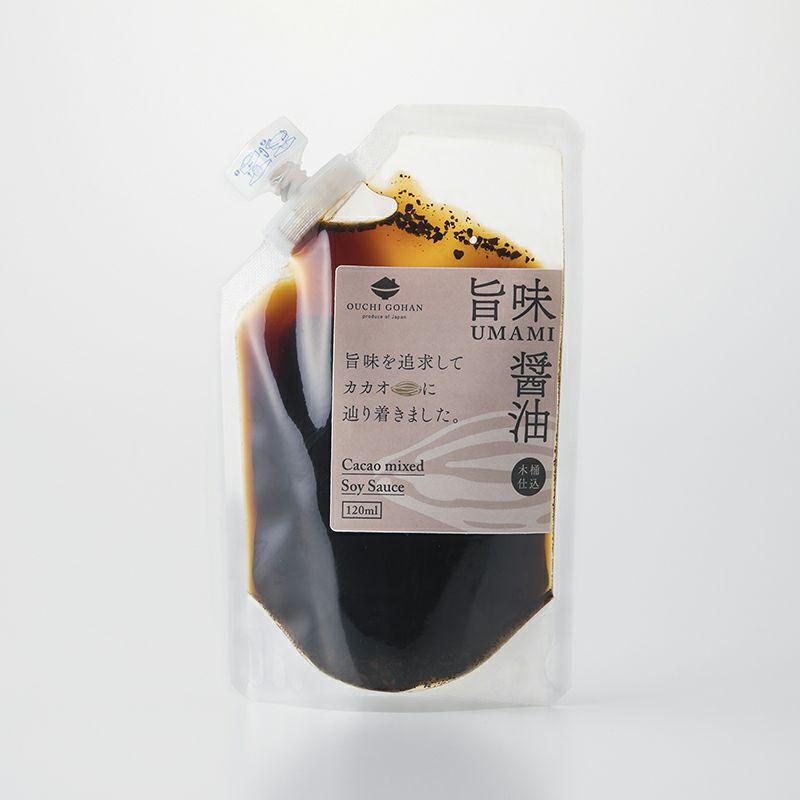 旨味醤油(パウチ)パッケージ