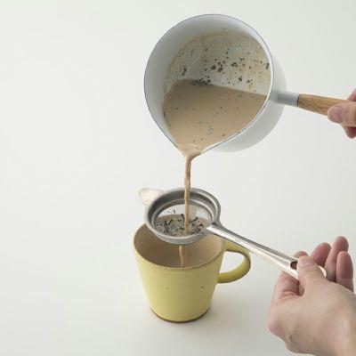 カカオチャイほうじ茶の給茶イメージ