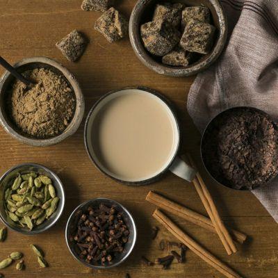 カカオチャイほうじ茶とスパイスイメージ