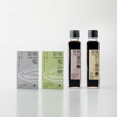 旨味調味料セット(塩・醤油)商品イメージ