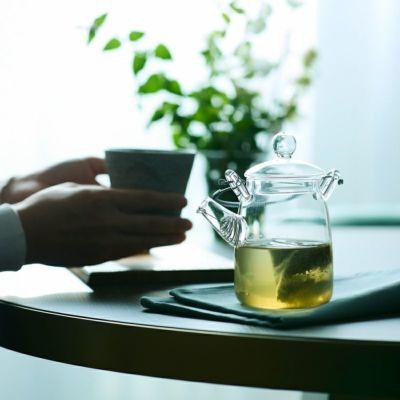 カカオ煎茶(缶)/カカオティー ティータイムイメージ2